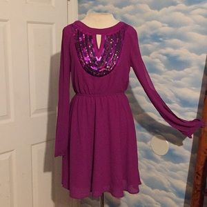 NWT The Clothing Company LA small purple dress